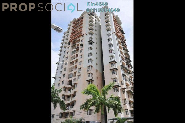 For Rent Condominium at Acres Ville, Sungai Ara Freehold Fully Furnished 3R/2B 1.1k