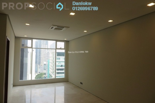 For Sale Office at Soho Suites, KLCC Freehold Semi Furnished 1R/1B 843k