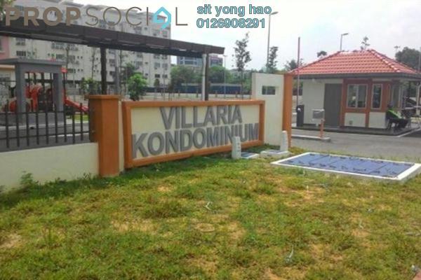 For Rent Condominium at Villaria, Bukit Antarabangsa Leasehold Semi Furnished 3R/2B 1.2k