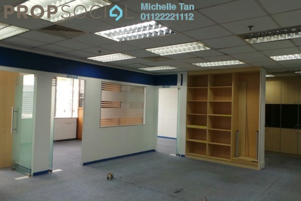 For Rent Office at Menara TA One, KLCC Freehold Fully Furnished 0R/0B 12.4k