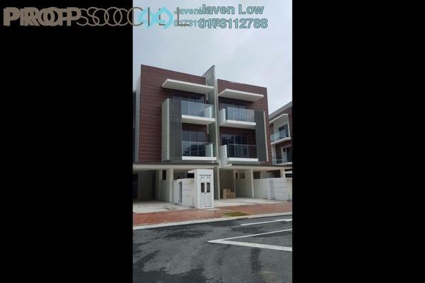 For Sale Townhouse at The Vale @ Sutera Damansara, Damansara Damai Leasehold Semi Furnished 4R/4B 948k