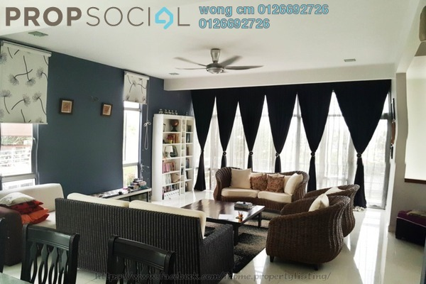 For Sale Semi-Detached at Saujana Villa, Kajang Freehold Semi Furnished 5R/4B 1.38m