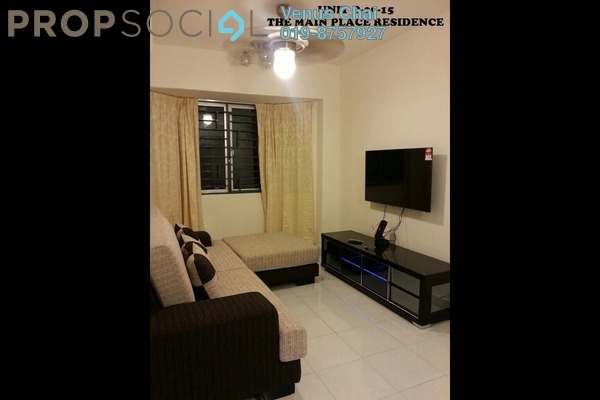 For Rent Condominium at Main Place Residence, UEP Subang Jaya Freehold Fully Furnished 2R/2B 2k