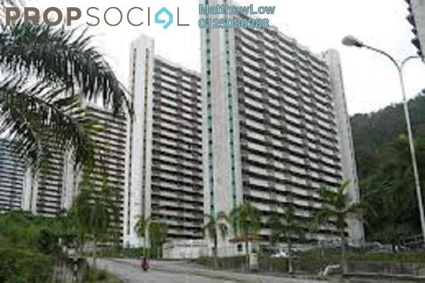 For Sale Apartment at Majestic Heights, Paya Terubong Leasehold Unfurnished 3R/2B 115k