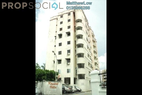 For Sale Apartment at Krystal Villa, Sungai Nibong Freehold Unfurnished 3R/2B 430k