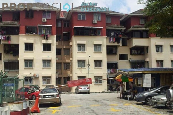 For Rent Apartment at Tulip Apartment, Pandan Indah Leasehold Unfurnished 3R/2B 1.1k