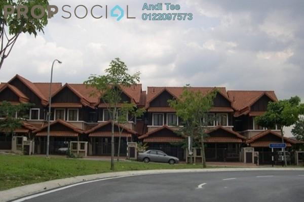 For Sale Terrace at Damai Jasa, Alam Damai Leasehold Semi Furnished 4R/3B 890k