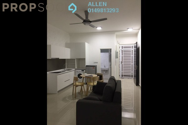 For Rent Serviced Residence at Twin Danga Residence, Johor Bahru Freehold Fully Furnished 0R/1B 1.6k