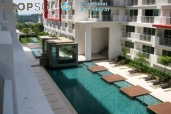 For Rent Condominium at Ritze Perdana 2, Damansara Perdana Leasehold Fully Furnished 1R/1B 1.5k
