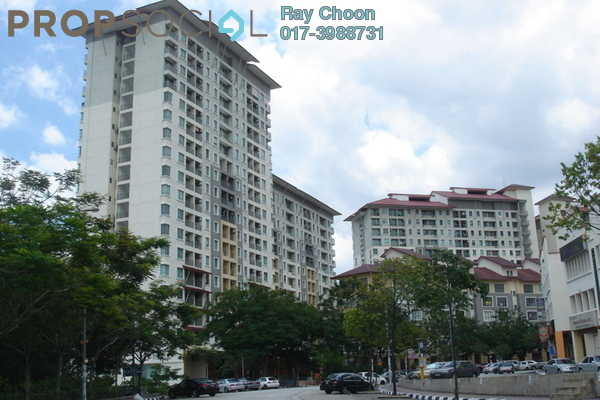 For Rent SoHo/Studio at Ritze Perdana 1, Damansara Perdana Leasehold Fully Furnished 1R/1B 1.55k