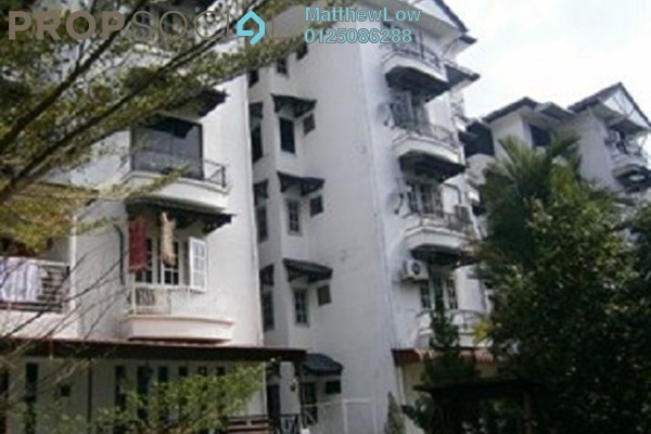 For Sale Condominium at Villa Condominium, Relau Freehold Semi Furnished 3R/2B 345k