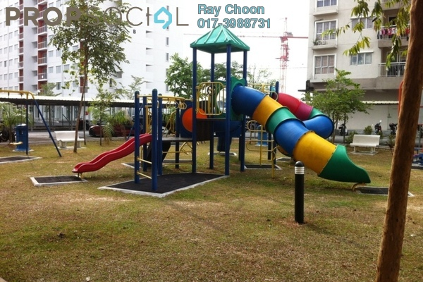 For Rent Condominium at Cahaya Permai, Bandar Putra Permai Leasehold Semi Furnished 3R/2B 1.2k