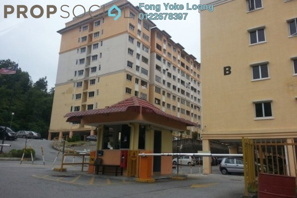 For Sale Apartment at Puncak Baiduri, Cheras South Freehold Semi Furnished 3R/2B 335k