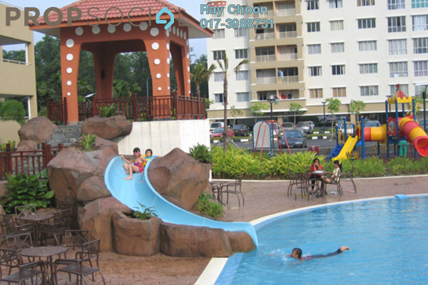For Rent Condominium at Koi Tropika, Puchong Leasehold Fully Furnished 3R/2B 1.6k