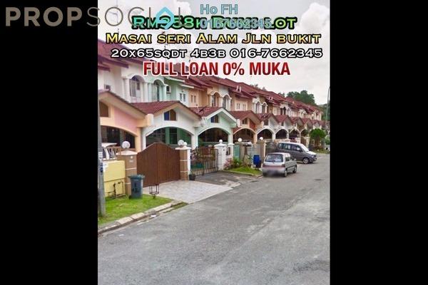 For Sale Terrace at Kota Masai, Pasir Gudang Freehold Semi Furnished 4R/3B 358k