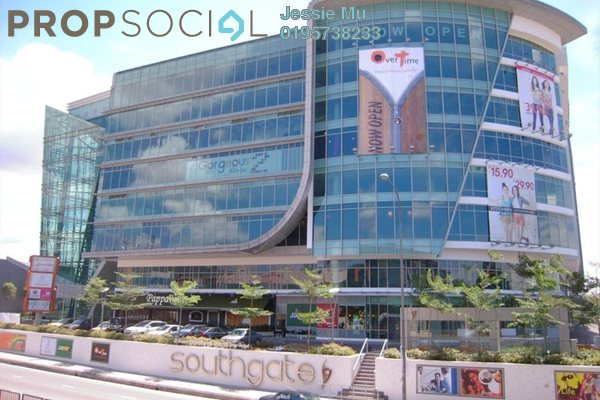 For Rent Shop at Southgate, Sungai Besi Freehold Unfurnished 0R/0B 6k