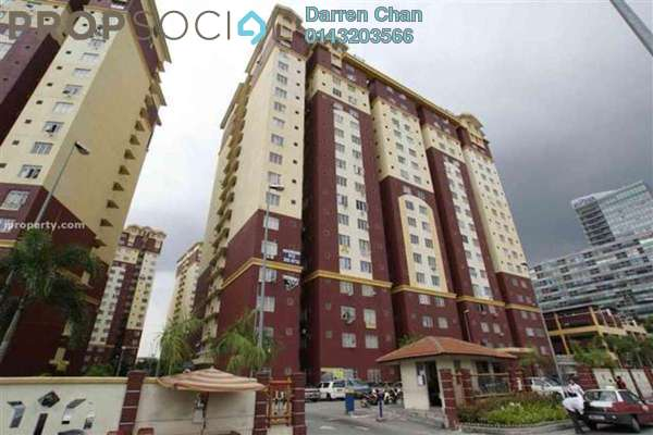 For Rent Apartment at Mentari Court 1, Bandar Sunway Leasehold Fully Furnished 3R/2B 1.25k