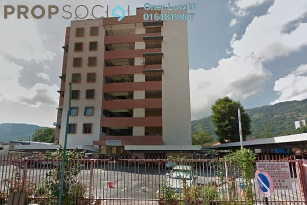 For Sale Apartment at Taman Sri Idaman, Air Itam Freehold Unfurnished 2R/1B 90k