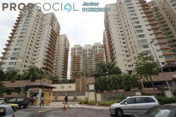 For Rent Condominium at East Lake Residence, Seri Kembangan Leasehold Semi Furnished 4R/4B 3.8k