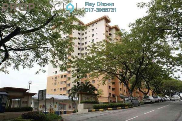 For Sale Apartment at Vantage Point, Desa Petaling Freehold Unfurnished 3R/2B 338k