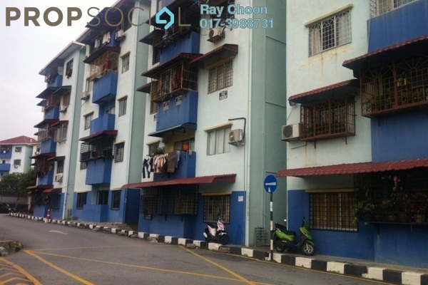For Sale Apartment at Taman Pinggiran Putra, Bandar Putra Permai Leasehold Unfurnished 4R/2B 175k