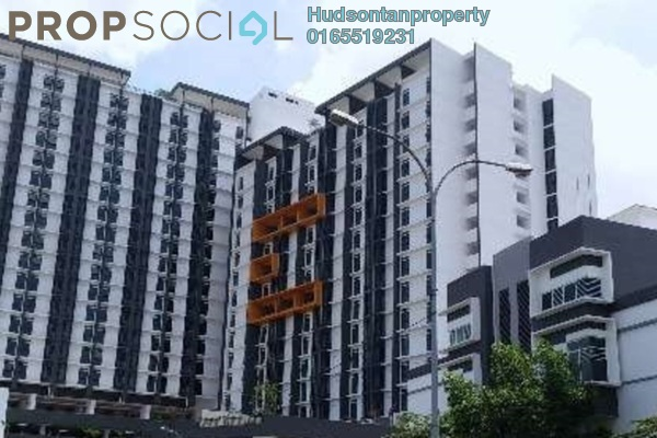 For Rent Condominium at V12 Sovo, Shah Alam Leasehold Fully Furnished 0R/1B 1.3k