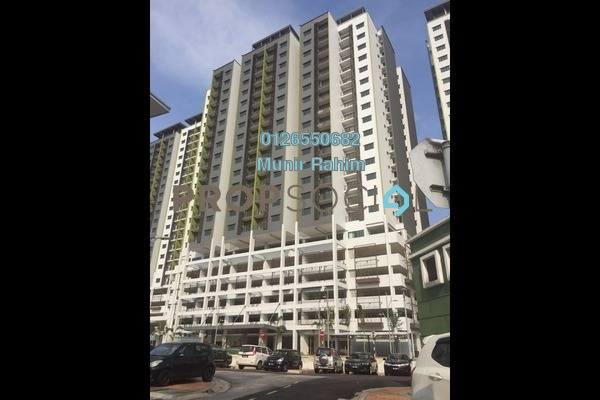For Sale Serviced Residence at Residensi Alami, Shah Alam Leasehold Semi Furnished 3R/2B 550k