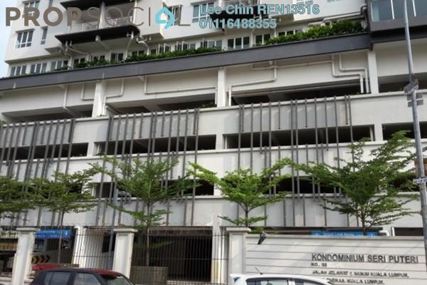 For Sale Condominium at Seri Puteri, Bandar Sri Permaisuri Leasehold Semi Furnished 3R/2B 560k