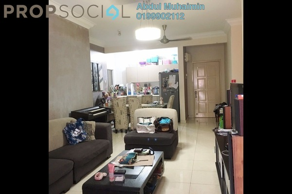 For Sale Condominium at Platinum Hill PV6, Setapak Freehold Semi Furnished 4R/2B 550k