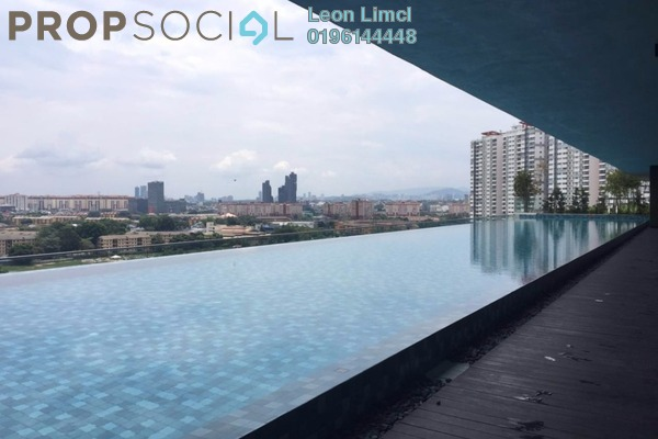 For Sale Condominium at Zefer Hill Residence, Bandar Puchong Jaya Freehold Unfurnished 4R/3B 630k