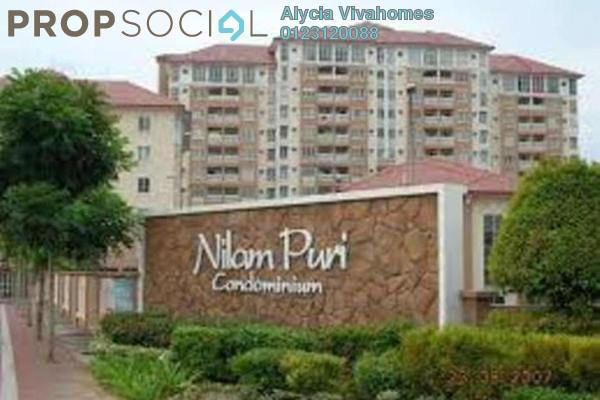 For Rent Condominium at Nilam Puri, Bandar Bukit Puchong Freehold Semi Furnished 3R/2B 1.2k