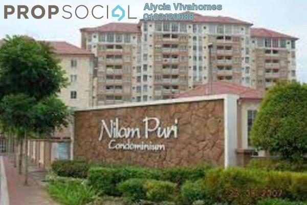 For Sale Condominium at Nilam Puri, Bandar Bukit Puchong Freehold Fully Furnished 3R/2B 415k