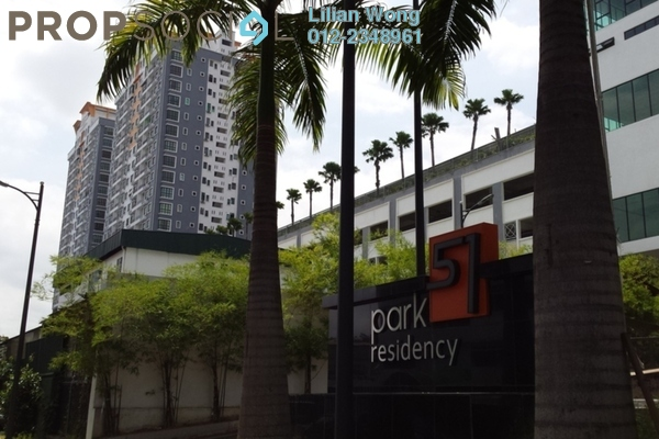 For Rent Condominium at Park 51 Residency, Petaling Jaya Leasehold Fully Furnished 3R/2B 2k