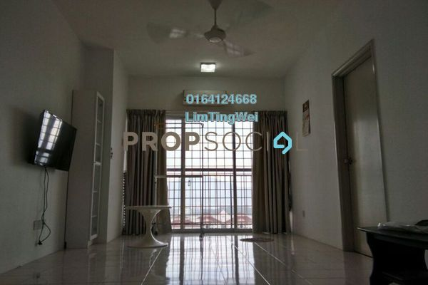 For Rent Condominium at Plaza Medan Putra, Bandar Menjalara Freehold Fully Furnished 3R/2B 1.5k