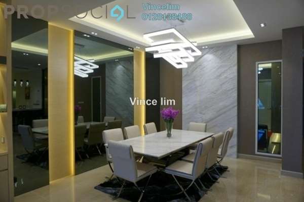 For Sale Duplex at Sunway Vivaldi, Mont Kiara Freehold Fully Furnished 4R/6B 3.63m