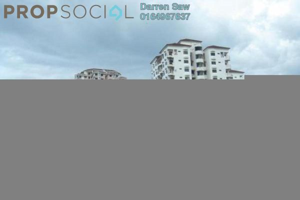 For Rent Condominium at University Heights, Sungai Dua Freehold Semi Furnished 3R/2B 1.1k