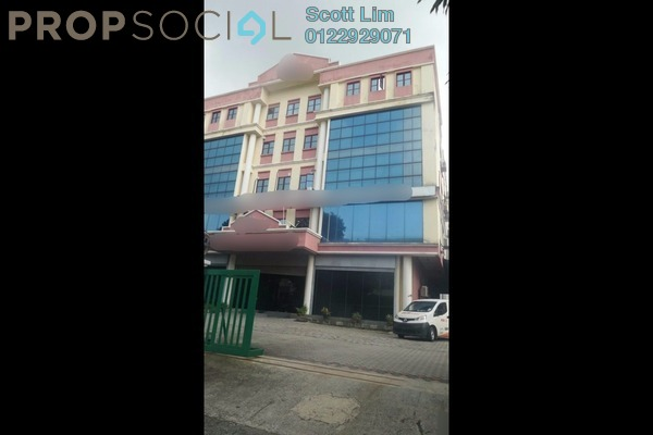 For Sale Factory at Axis Industrial Park, Kota Kemuning Freehold Fully Furnished 0R/3B 7.5m