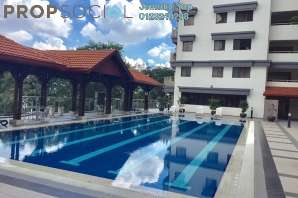 For Rent Condominium at Cascadium, Bangsar Freehold Fully Furnished 2R/2B 3.2k