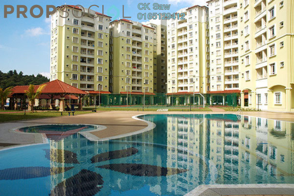 For Sale Condominium at Desaria Villa, Puchong Leasehold Unfurnished 4R/2B 268k