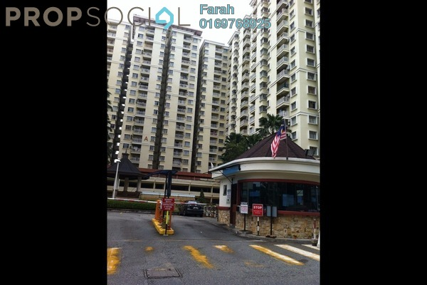 For Rent Condominium at Platinum Hill PV5, Setapak Freehold Fully Furnished 4R/2B 1.7k