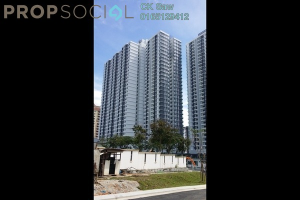 For Rent Condominium at Scenaria, Segambut Freehold Fully Furnished 3R/2B 2k