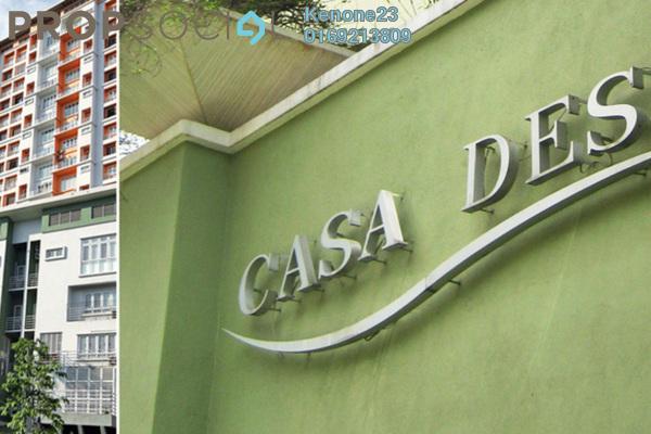 For Rent Condominium at Casa Desa, Taman Desa Freehold Fully Furnished 2R/2B 1.95k