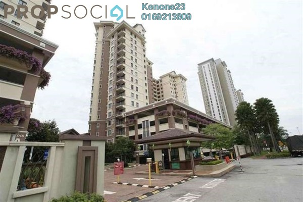 For Rent Condominium at Casa Indah 1, Tropicana Leasehold Fully Furnished 2R/2B 1.95k