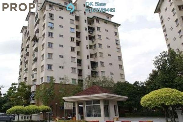For Rent Condominium at Casa Villa, Kajang Freehold Fully Furnished 3R/2B 1.5k