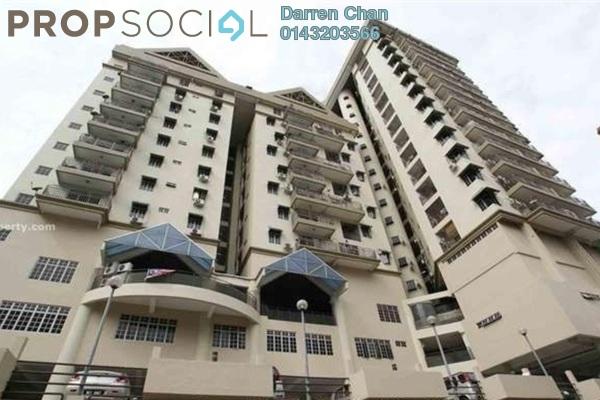 For Rent Condominium at Fajar Ria, Pantai Freehold Semi Furnished 3R/2B 1.8k