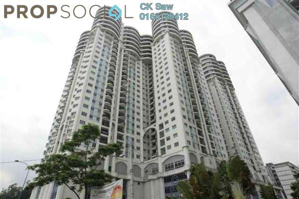 For Rent Condominium at Villa Scott, Brickfields Freehold Fully Furnished 4R/3B 3.2k