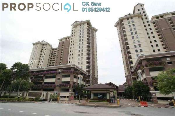 For Rent Condominium at Casa Indah 1, Tropicana Leasehold Fully Furnished 2R/2B 1.9k