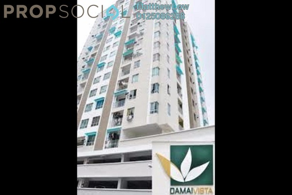 For Rent Apartment at Damai Vista, Green Lane Freehold Semi Furnished 3R/2B 1.2k