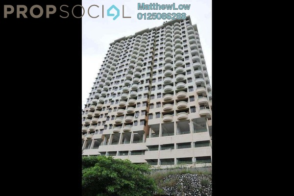 For Rent Condominium at Eden Seaview, Batu Ferringhi Freehold Fully Furnished 3R/2B 1.7k