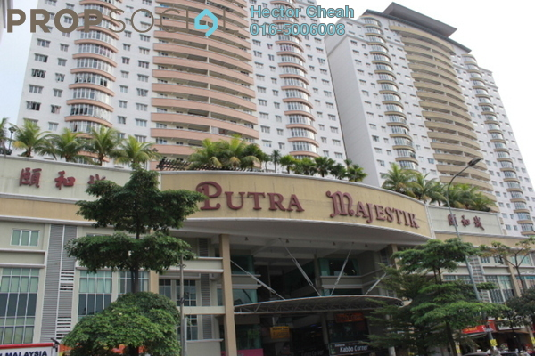 For Sale Condominium at Putra Majestik, Sentul Freehold Fully Furnished 3R/2B 460k